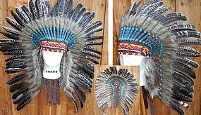 Indianer Federhaube Raubvogel ähnlich