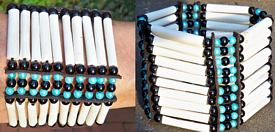 Breites Chokerarmband elastisch