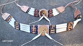 Indianisches Choker Set aus Hairpipes