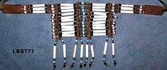 Chokerhalsband 12-reihig