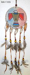 Leder Mandala indianer Adler wind dancer