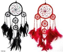 Traumfänger farbig mit bunten Perlen