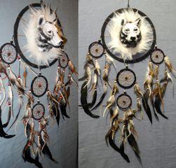 Traumf�nger mit Wolfskopf
